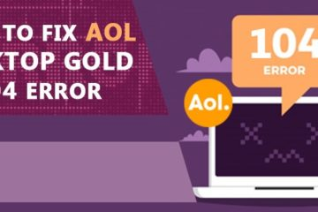 AOL Desktop Gold Error Code 104
