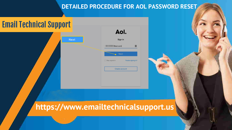 AOL Password Reset