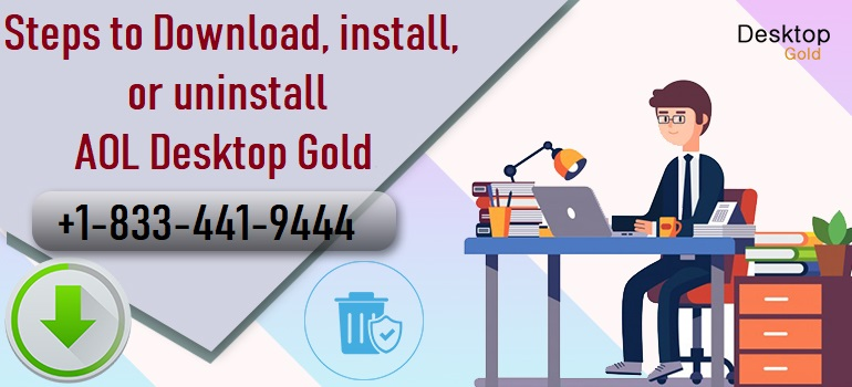 Download, install, or uninstall AOL Desktop Gold
