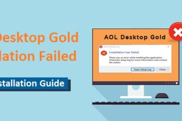 AOL Desktop Gold Installation Failed