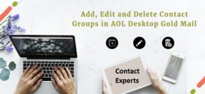 Add, Edit, and Delete Contact Groups in AOL
