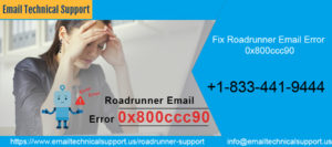 Fix Roadrunner Email Error 0x800ccc90