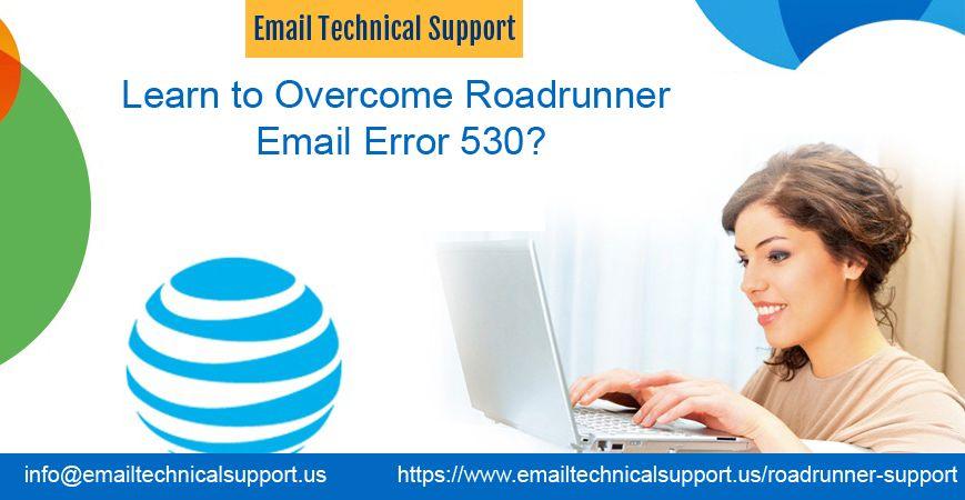 Roadrunner Email Error 530