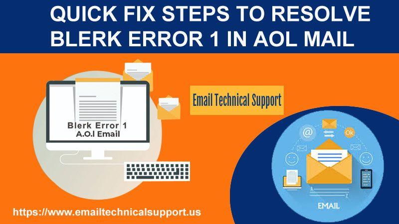 Blerk Error 1 in AOL