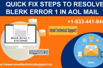 Blerk Error 1 in AOL