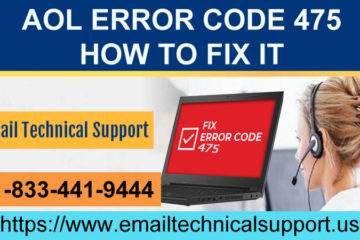 AOL Error Code 475