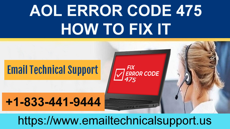 """AOL Error Code 475: Learn Efficient Steps to Fix it? """