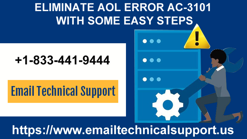 Eliminate AOL Error ac-3101 with Some Easy Steps