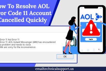 AOL mail error 11