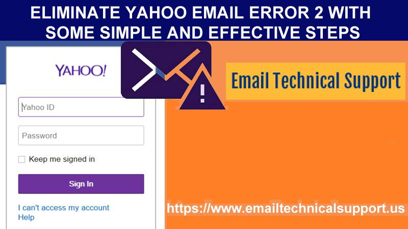 Yahoo Email Error 2
