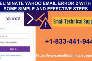 Eliminate Yahoo Email Error 2