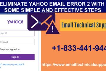 Eliminate Yahoo Email Error 2