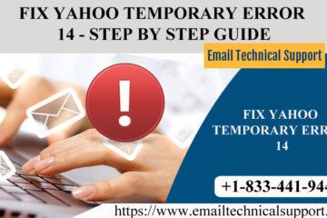 Fix Yahoo Error 14
