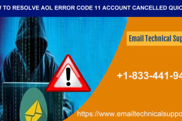 AOL mail error 11