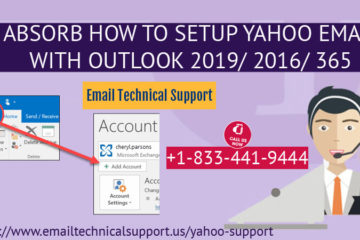 setup yahoo email with outlook 2019 2016 365