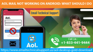 AOL Mail Not Working On Android