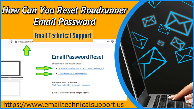 Reset Roadrunner Email Password
