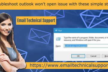 Outlook Won't Open