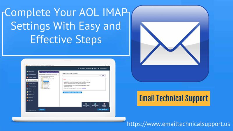 AOL IMAP Settings