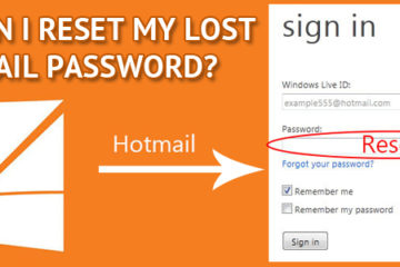 Reset Hotmail Password