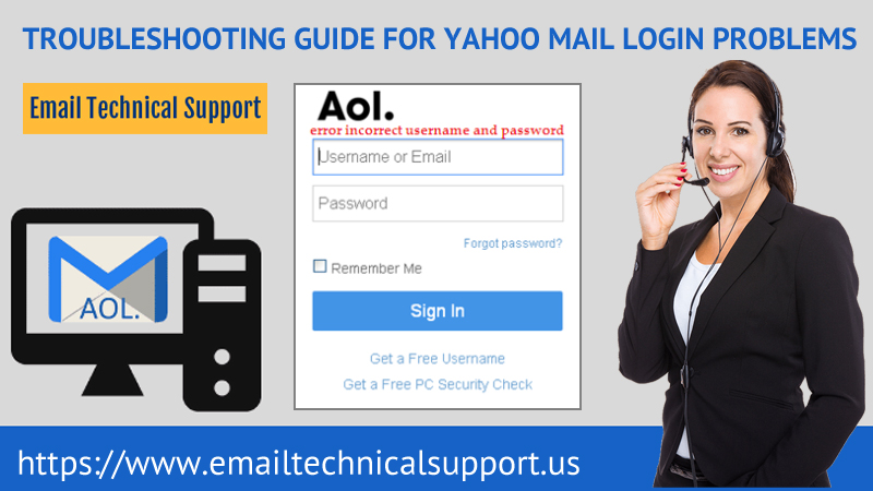 Yahoo Mail Login Problems