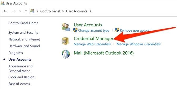 Manage-web-credentials