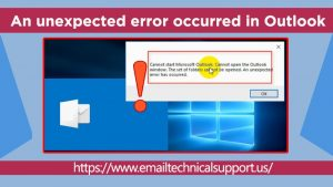 An-unexpect-error-occurred-in-Outlook