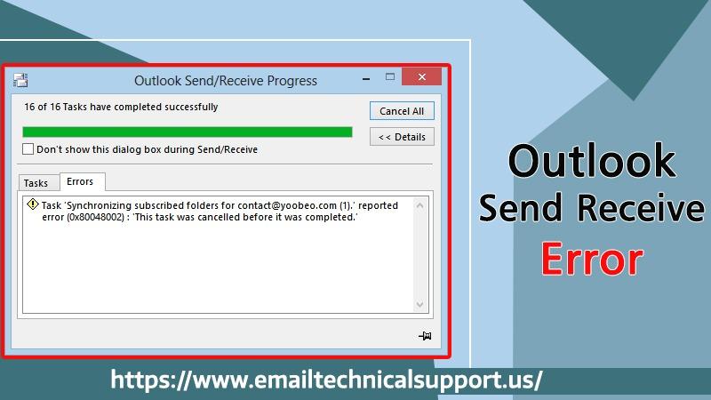 Outlook-Send-Receive-Error
