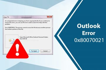 Outlook-Error-0x80070021
