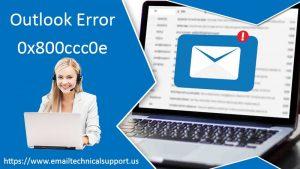outlook-error-0x800ccc0e