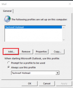 Outlook-Specific-Name