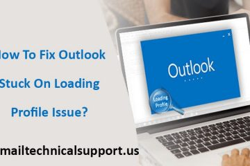 How to fix Outlook stuck on loading profile?