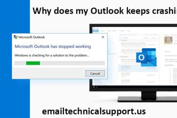 Why does my Outlook keeps crashing