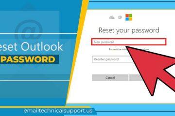 Reset Outlook Password