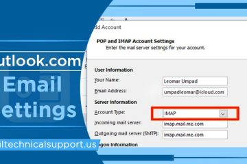 outlok.com email settings