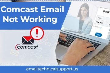 Comcast email not working