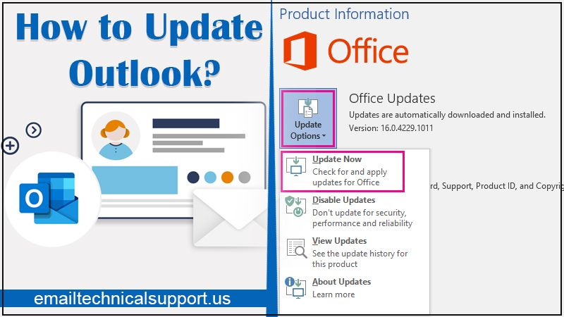 How to update Outlook?