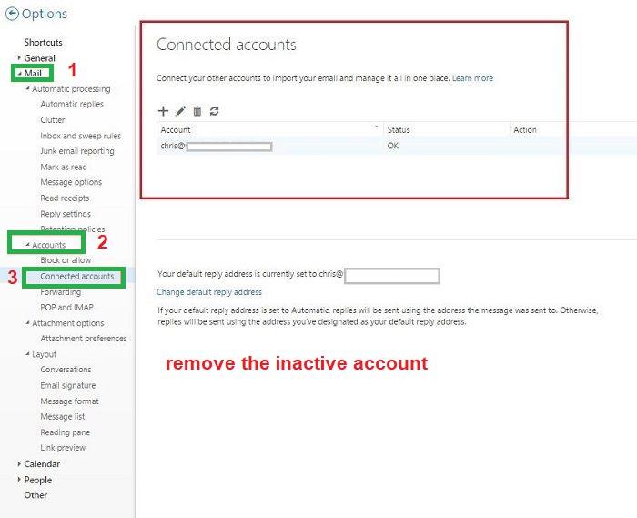 remove some inactive accounts