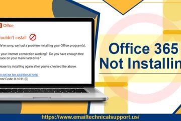 Office 365 Not Installing